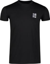 Čierne pánske fitness tričko POUNCE - NBSMF6656