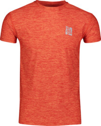 Červené pánske fitness tričko POUNCE - NBSMF6656