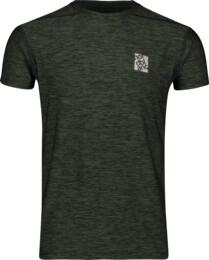 Zelené pánske fitness tričko POUNCE - NBSMF6656