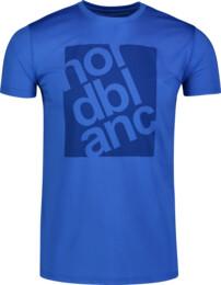 Modré pánske fitness tričko PERT - NBSMF6657