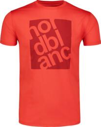 Červené pánske fitness tričko PERT - NBSMF6657