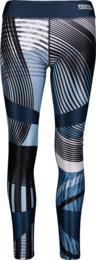 Modré dámské legíny TENUOUS - NBSPL6673