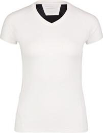 Bílé dámské tričko na běhání STOCK - NBSLF6684