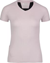 Růžové dámské tričko na běhání STOCK - NBSLF6684