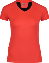 Oranžové dámské tričko na běhání STOCK - NBSLF6684
