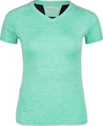 Zelené dámské tričko na běhání STOCK - NBSLF6684