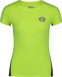 Žluté dámské funkční tričko BASAL - NBSLF6685