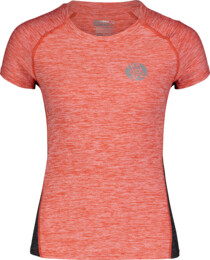 Červené dámské funkční tričko BASAL - NBSLF6685