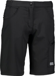 Čierne dámske šortky na bicykel TERRIFIC - NBSPL6803