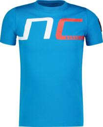 Modré detské bavlnené tričko HAUL - NBSKT6824L