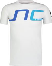 Biele detské bavlnené tričko HAUL - NBSKT6824L