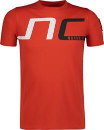 Červené detské bavlnené tričko HAUL - NBSKT6824L