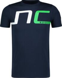 Modré detské bavlnené tričko HAUL - NBSKT6824S