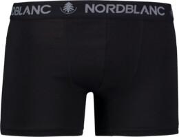 Černé pánské bavlněné boxerky FIERY - NBSPM6866