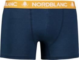 Modré pánské bavlněné boxerky FIERY - NBSPM6866