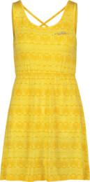 Women's yellow dress ISLAND - NBSLD5660