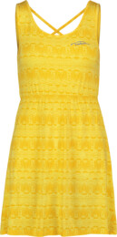 Žlté dámske šaty ISLAND - NBSLD5660