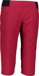 Women's wine red ultra light outdoor shorts ABET