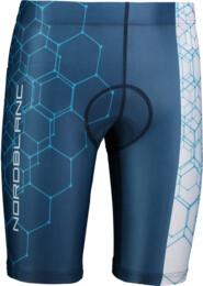 Modré pánské cyklistické šortky SPRINT - NBSPM6650