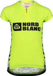 Žlutý dámský cyklo dres SEDUCE