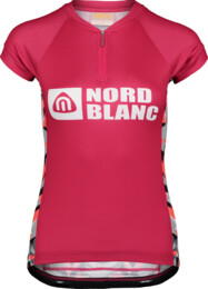 Ružový dámsky cyklo dres SEDUCE - NBSLF6651
