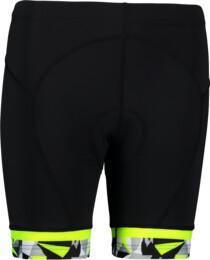 Čierne dámske cyklistické šortky STRAIT - NBSPL6654
