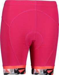 Ružové dámske cyklistické šortky STRAIT
