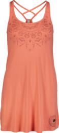 Women's pink dress QUIRK - NBSLD6765