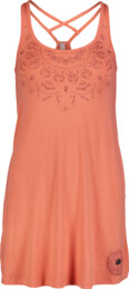Ružové dámske šaty QUIRK - NBSLD6765