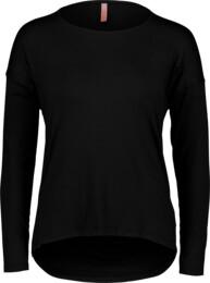 Fekete női elasztikus póló SLOPPY - NBSLT6772