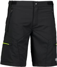 Černé pánské šortky na kolo SPURT - NBSPM6802