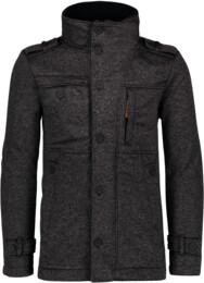 Čierny pánsky svetrový softshellový kabát SUAVE - NBWSM6596