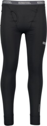 Men's black winter baselayer pants LEX - NBBMD2239