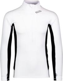 Biele pánske celoročné termo triko LOQID - NBBMU2246