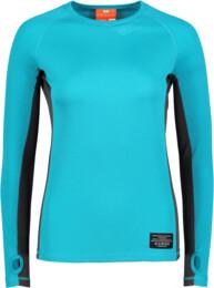 Modré dámske celoročné termo triko LEXIE - NBBLU2247
