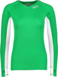 Zelené dámske celoročné termo triko LEXIE - NBBLU2247
