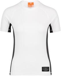 Biele dámske celoročné termo triko LINDY - NBBLU2248