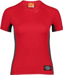Červené dámske celoročné termo triko LINDY - NBBLU2248