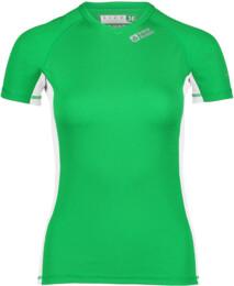 Zelené dámske celoročné termo triko LINDY - NBBLU2248