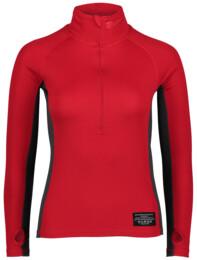 Červené dámske celoročné termo triko LIPPO - NBBLU2249