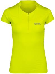 Žlté dámske funkčné cyklo bamboo tričko BROOK - NBSLF2581