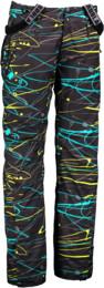 Men's black snowboard pants FOOLER