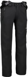 Šedé pánske softshellové lyžiarske nohavice GOOSI - NBWP2645