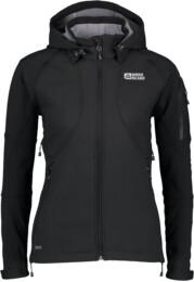 Čierna dámska zateplená softshellová bunda MOUNTY - NBWSL2666