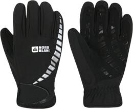 Černé softshellové rukavice NORDI - NBWG2858