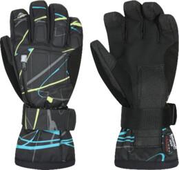 Černé pánské rukavice BELTO - NBWG2935