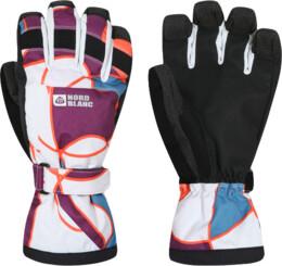 Bílé dámské rukavice BOAR - NBWG2936
