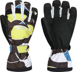 Hnědé dámské rukavice BOAR - NBWG2936