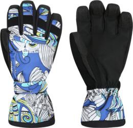 Modré dámské rukavice BOAR - NBWG2936
