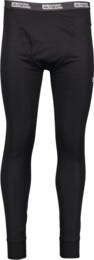 Čierne pánske ľahké termo nohavice LIOK - NBBLH3394A